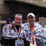 Piotr Zyguła na maratonie w Toskanii