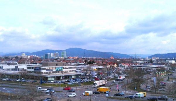 panorama Freiburga