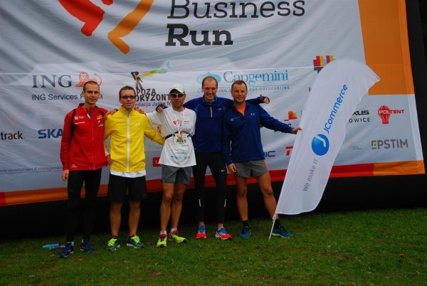 drużyna jharty na business run 2018