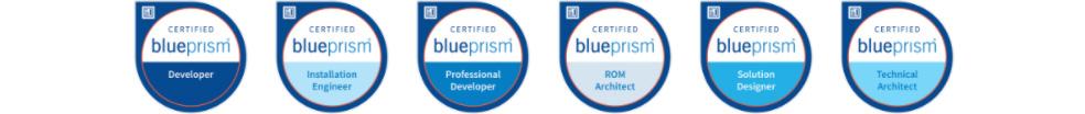 Blue Prism certyfikaty dla RPA developera